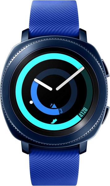 Samsung Gear Sport blau Android & iOS Smartwatch Pulsmesser wasserdicht