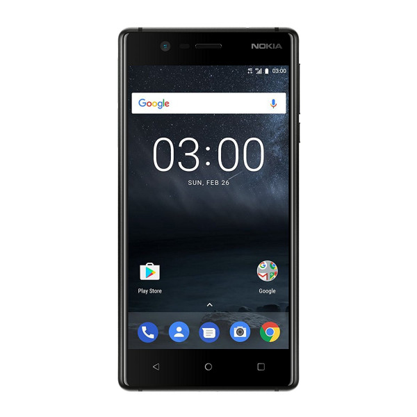 "Nokia 3 schwarz 16GB LTE Android Smartphone ohne Simlock 5"" Display 8Megapixel"