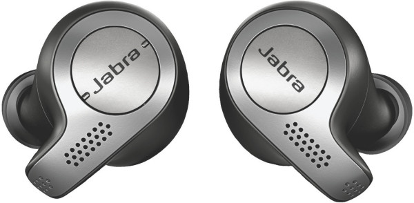 Jabra Elite 65t Bluetooth Headset schwarz True-Wireless-Kopfhörer in Ear