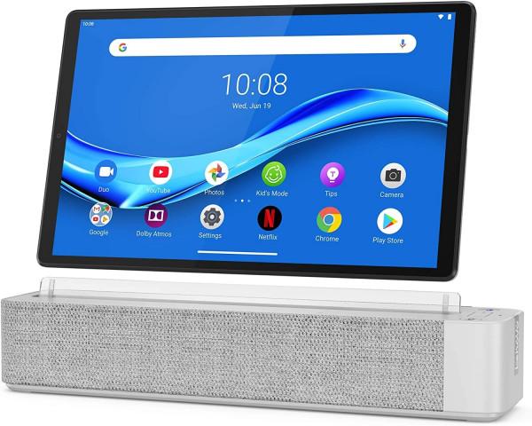 """Lenovo Smart Tab M10 FHD Plus 10"""" 32GB Platinum grau"""