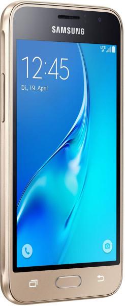"Samsung J120F GALAXY J1 2016 gold 8GB LTE Android 4,5"" Smartphone ohne Simlock"