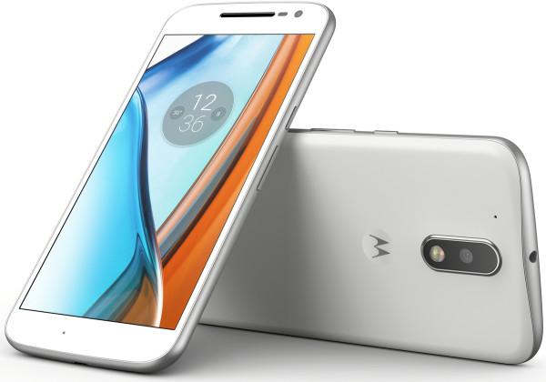 "Lenovo Moto G4 weiß 16GB LTE Android Smartphone ohne Simlock 5,5"" Display 13 MPX"