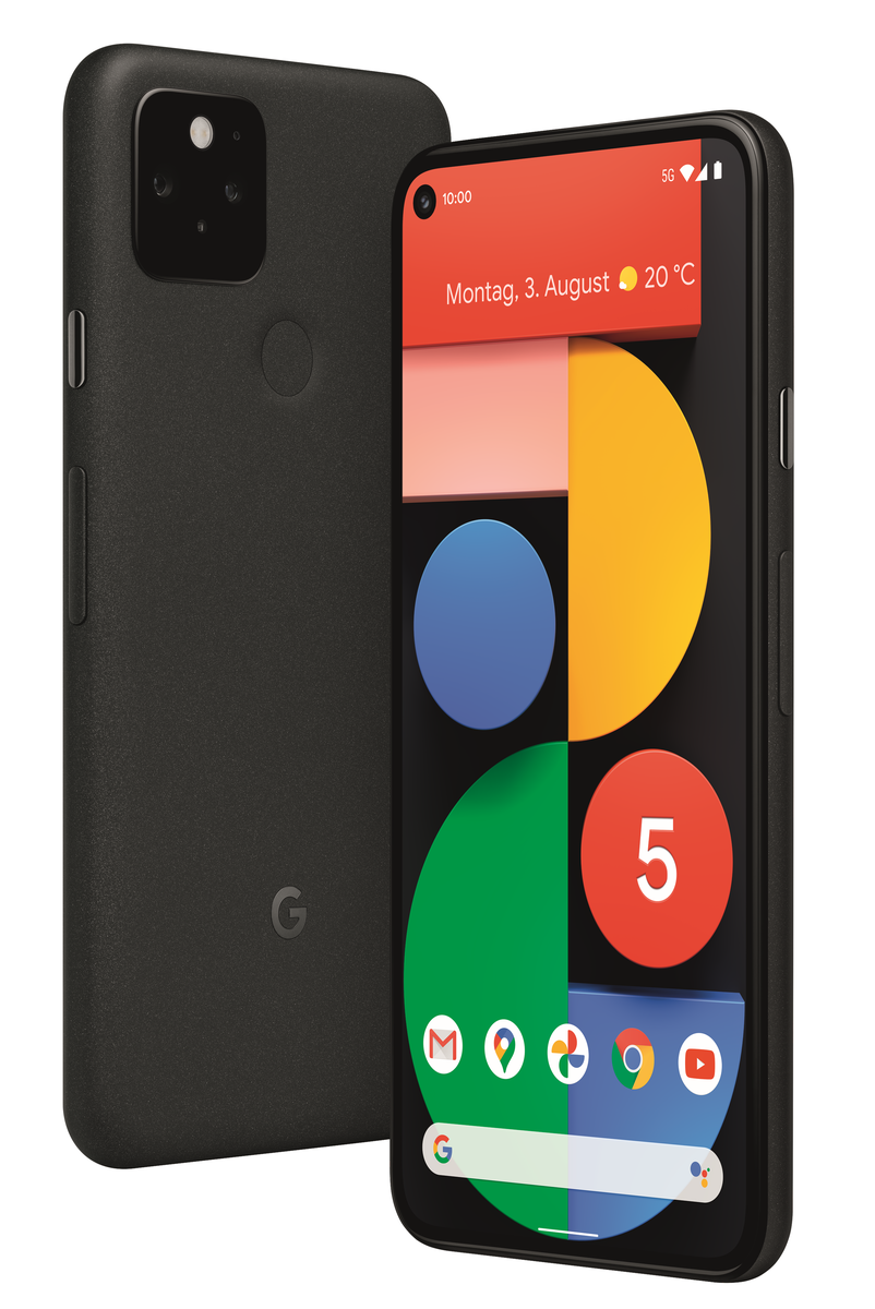 Google Pixel 5 DualSim schwarz 128GB 5G | smallbug ...