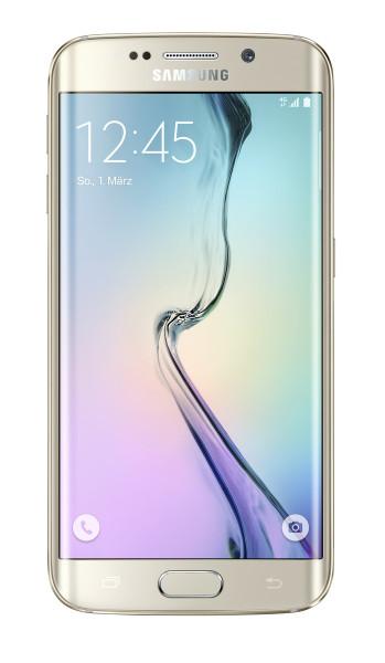 "Samsung Galaxy S6 edge Gold 32GB LTE Android 5,1"" Smartphone ohne Simlock 16 MP"