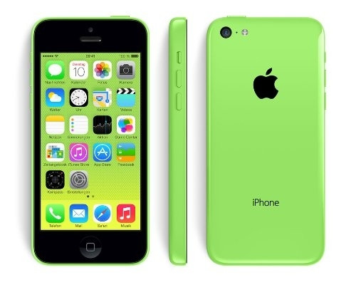 """Apple iPhone 5c 16GB Grün IOS Smartphone 4"""" ohne Simlock 8 MPX vom Händler"""