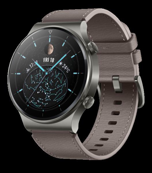 Huawei Watch GT 2 Pro Vidar B19V Classic Nebula Grau