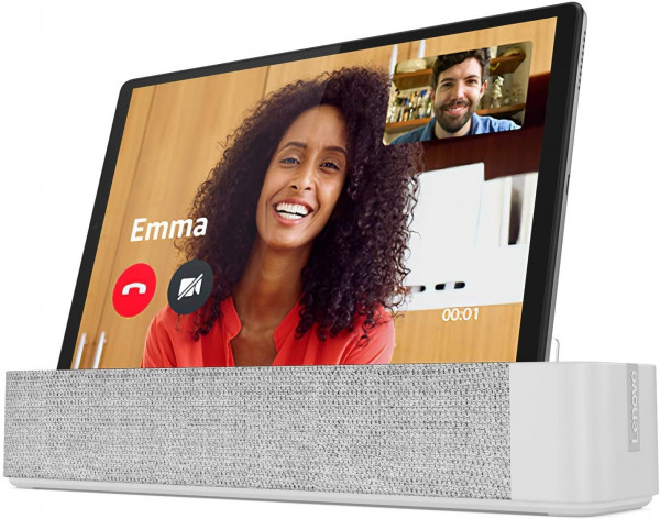 "Lenovo Smart Tab M10 Plus 10"" 32GB silber inkl. Smart Dock"