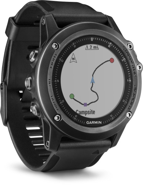 Garmin fenix 3 HR Saphir GPS-Multi Sportuhr integr. Herzfrequenzmessung