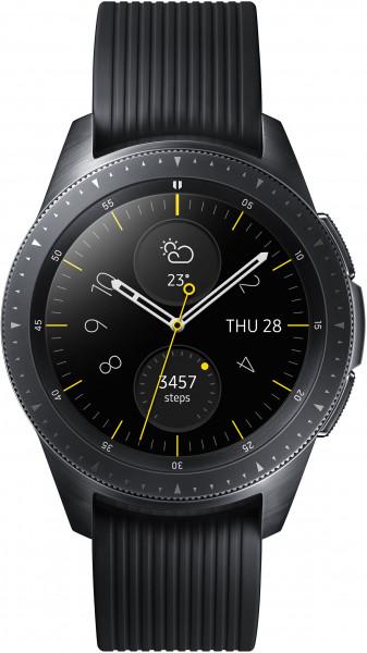 Samsung Galaxy Watch 42mm schwarz Smartwatch Fitness Tracker GPS Pulssensor BT