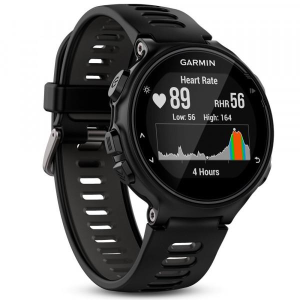 Garmin Forerunner 735XT Run schwarz/grau Sportuhr Fitnesstracker Herzfrequenz
