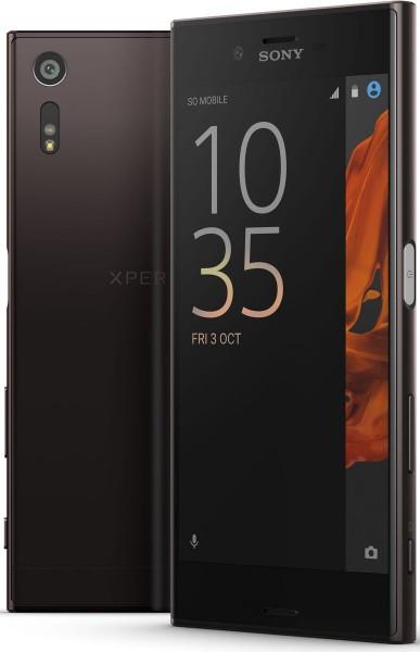 """Sony Xperia XZ schwarz 32GB LTE Android Smartphone 5,2"""" Display ohne Simlock"""