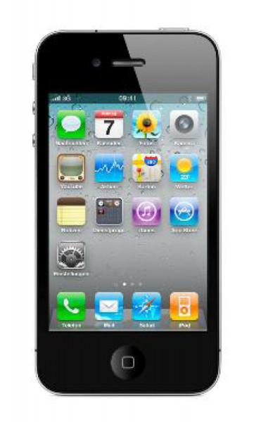 "Apple iPhone 4 8GB schwarz IOS Smartphone 3,5"" Display ohne Simlock 5 Megapixel"