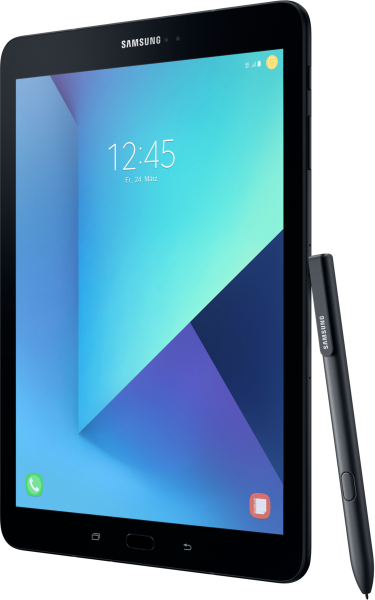 """Samsung Galaxy Tab S3 T825 LTE schwarz Android 7.0 Tablet PC 9,7"""" Display"""