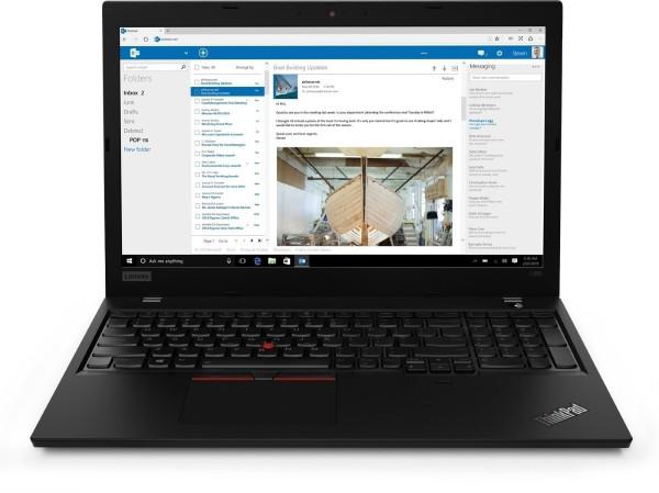 "Lenovo Thinkpad L590 i5 256GB SSD 8GB RAM schwarz Win10 Pro 15,4"" Display USB-C"