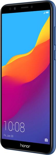 "Honor 7C DualSim blau 32GB LTE Android Smartphone o. Simlock 5,99"" Display 13MPX"