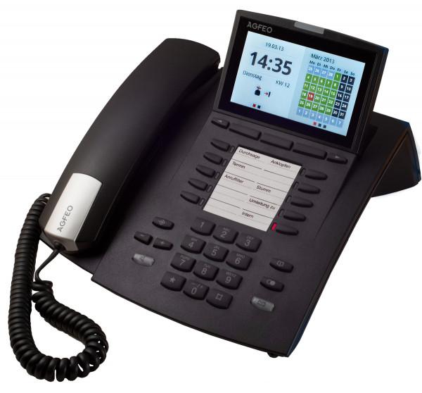 AGFEO Systemtelefon ST45 schwarz