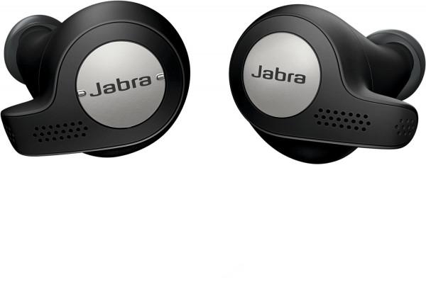 JABRA Elite 65t Active black Bluetooth Headset True-Wireless-Kopfhörer Akku 5h