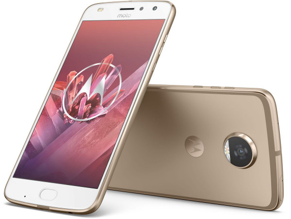 Motorola Moto Z2 Play gold 64GB DualSim LTE Smartphone inkl. JBL Soundboost 2