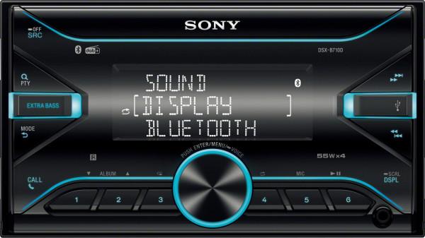 SONY 2-DIN Autoradio DSXB710KIT