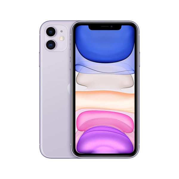 "Apple iPhone 11 violett 64GB LTE iOS Smartphone 6,1"" Retina Display 12 MPX eSim"