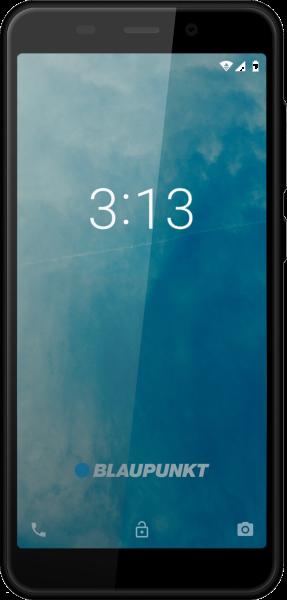 "Blaupunkt SM02 DualSim schwarz 8GB 3G Android Smartphone 4,95"" Display 8 MPX"