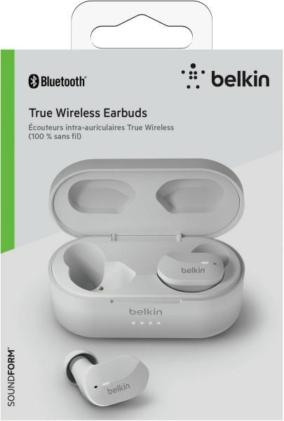 Belkin In-Ear Kopfhörer SOUNDFORM™ True Wireless Bluetooth weiß iOAS Android