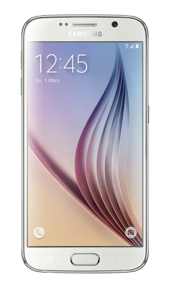 "Samsung Galaxy S6 64GB wei§ LTE Android Smartphone 5"" Display ohne Simlock 16MP"