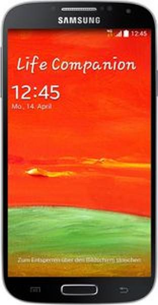 "Galaxy S4 9515 tief schwarz 16GB LTE Android Smartphone ohne Simlock 5"" Display"