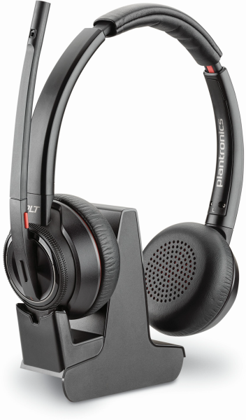 Plantronics Ersatzheadset Savi W8220 ohne Basis Kopfbügel DECT-Headset schwarz