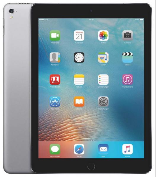 Apple iPad Pro MLPW2FD/A iOS 9,7 Zoll Tablet PC 32GB WiFi & Cellular Space Grau