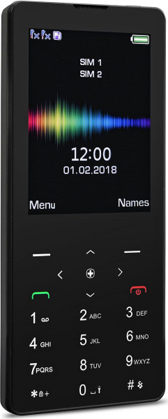 """swisstone SC 590 Touch DualSim schwarz 2G Tastenhandy 2,8"""" Touchscreen BT"""