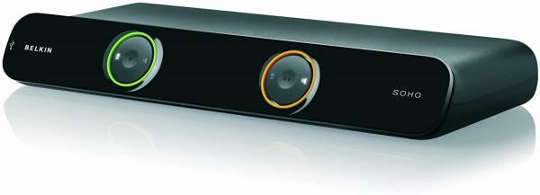 Linksys New SoHo 2-Port KVM Umschalter USB DVI inkl. 18 m