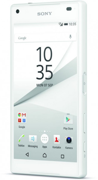 "Sony Xperia Z5 Compact 32GB weiß Android Smartphone 4,6"" Display ohne Simlock"