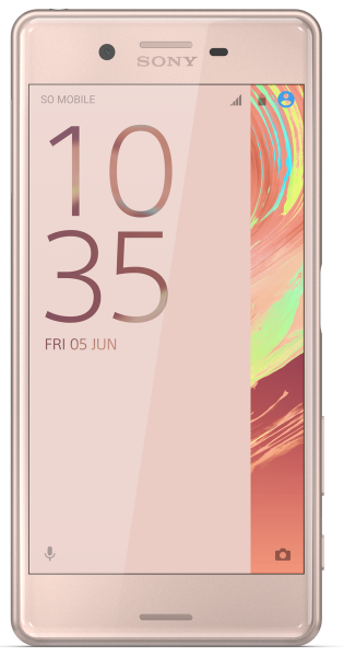 """Sony Xperia X Performance Rosegold 32GB Android 5"""" Smartphone ohne Simlock 23MPX"""