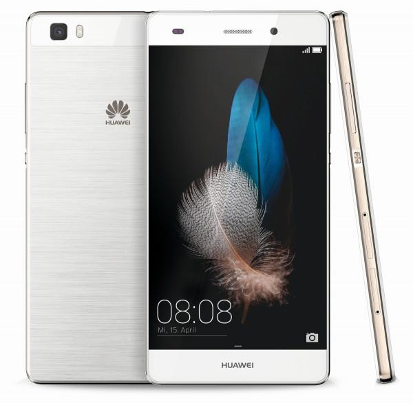 "Huawei P8 lite weiß LTE Dual SIM Android Smartphone 5"" ohne Simlock 13 Megapixel"