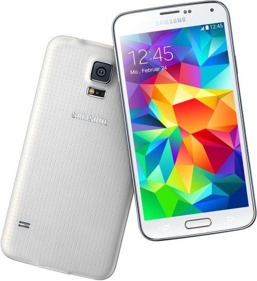 "Samsung G901F Galaxy S5+ weiß LTE Android Smartphone Telekom 5,1"" Display 16 MPX"