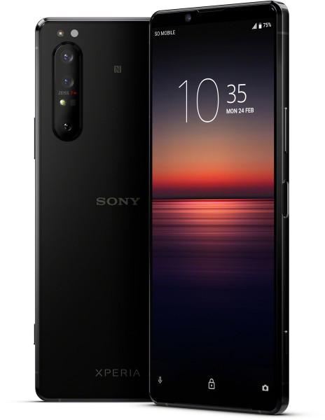 "Sony Xperia 1 II DualSim schwarz 128GB 5G LTE Android Smartphone 6,5"" 12 MPX 4K"