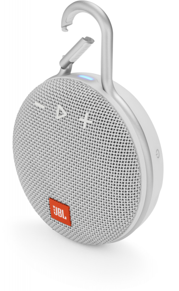 JBL Clip 3 Tragbarer Bluetooth Lausprecher weiß