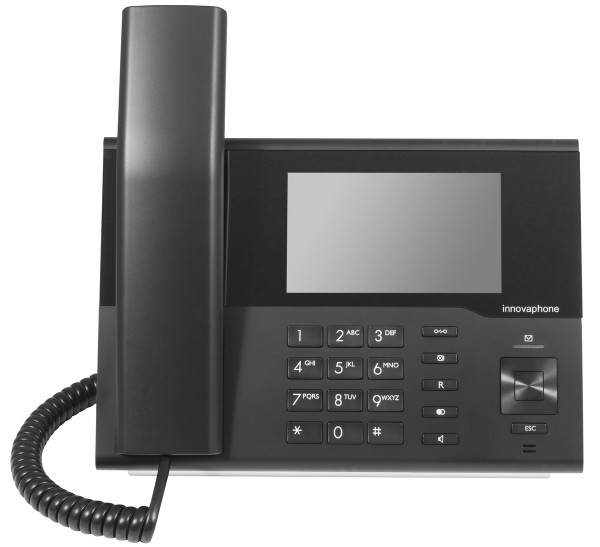 innovaphone IP232 IP Design Telefon schwarz