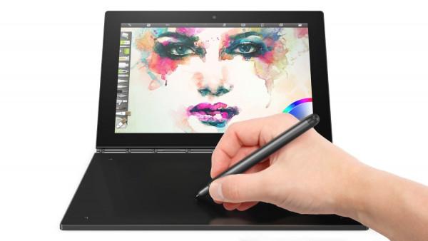 "Lenovo YOGA Book schwarz 64GB LTE WIFI Windows 10 Pro Tablet PC 10,1"" Display"