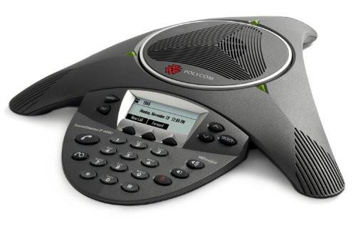 Polycom SoundStation IP6000 (SIP), PoE, inkl. Netzteil VoIP Konferenztelefon
