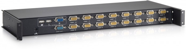 LevelOne KCM-1632 16-Port KVM Switch Module