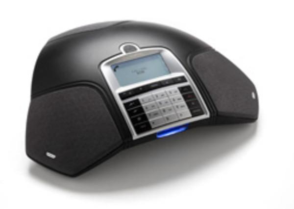 Konftel 250 Konferenztelefon LCD Anzeige charcoal black Konferenzsystem analog
