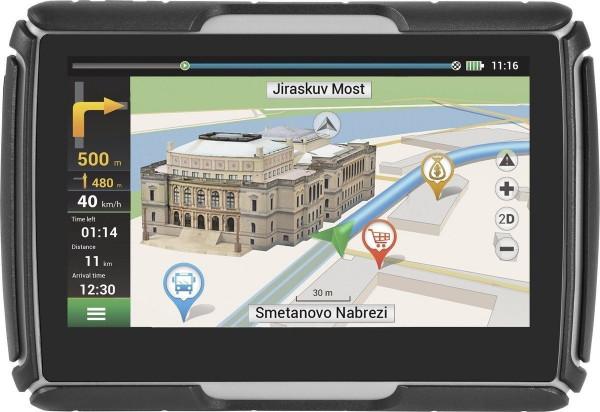 Navitel G550 MOTO Navigationsgerät Motorrad-Navi Touchscreen Bluetooth