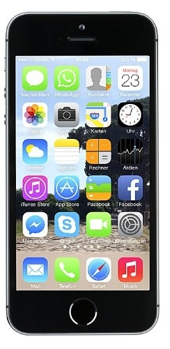 "Apple iPhone 5s 16GB Spacegrau LTE IOS Smartphone ohne Simlock 4"" Display 8 MPX"