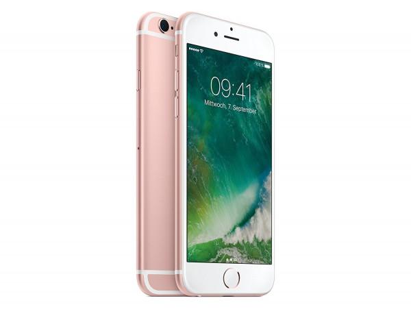 Apple iPhone 6s 128GB Roségold LTE Smartphone ohne Simlock, ohne Vertrag