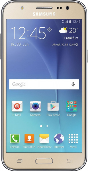 "Samsung Galaxy J5 J500H Gold Android Smartphone ohne Simlock 4,9"" Display 13 MP"