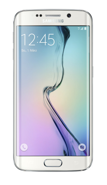 "Samsung Galaxy S6 edge 64GB weiß LTE 5"" Android Smartphone ohne Simlock 16MPX"