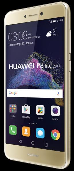 "Huawei P8 Lite 2017 16GB gold Dual Sim LTE Android Smartphone ohne Simlock 5,2"""