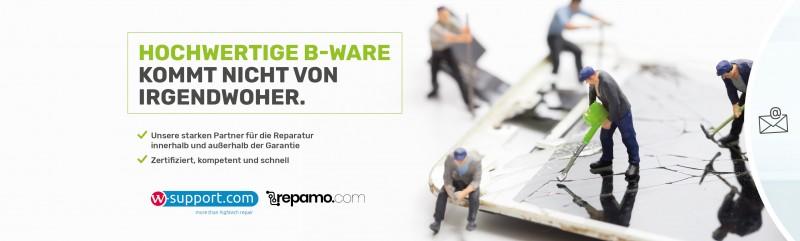 Banner Aufbereitung Reparatur Elektronik B Ware W Support Repamo